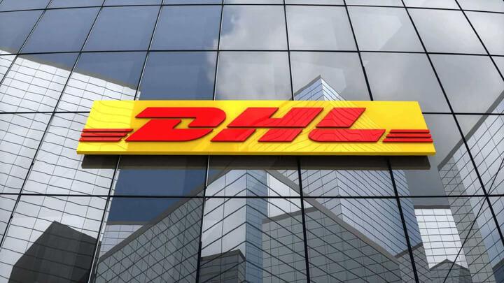 DHL International Courier service